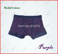 One piece Purple Color men's underpants Model cotton Guys pants boxer short high quality Size XL NoR Freeshipping ^^KKK
