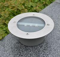 Free Shipping High Quality 5pcs/LOT 3leds Solar Buried LED Lamp Underground Light Garden Light