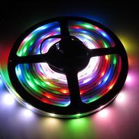 ON SALE!  WS2801 32 LEDs/M Digital RGB LED Light Strip Tube Waterproof 5V & T1000S SD Card Controller & 5V 20A Power Supply