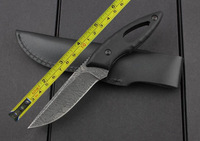 Free shipping 8'' New G10 handle Full Tang Fixed Blade Survival Bowie Hunting Knife VTH65