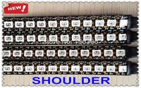 1M WS2812 WS2812B 144LEDs/m 2811 IC 5050 RGB SMD Built-in Addressable Color LED Pixels Strip Light Black PCB Non-waterproof DC5V