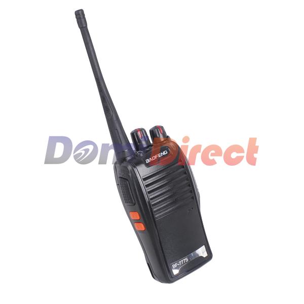 Portable two way radio BaoFeng BF-777S Walkie Talkie UHF 400-470MHz 5W 16CH Single band Single frequency 6KM distance(China (Mainland))
