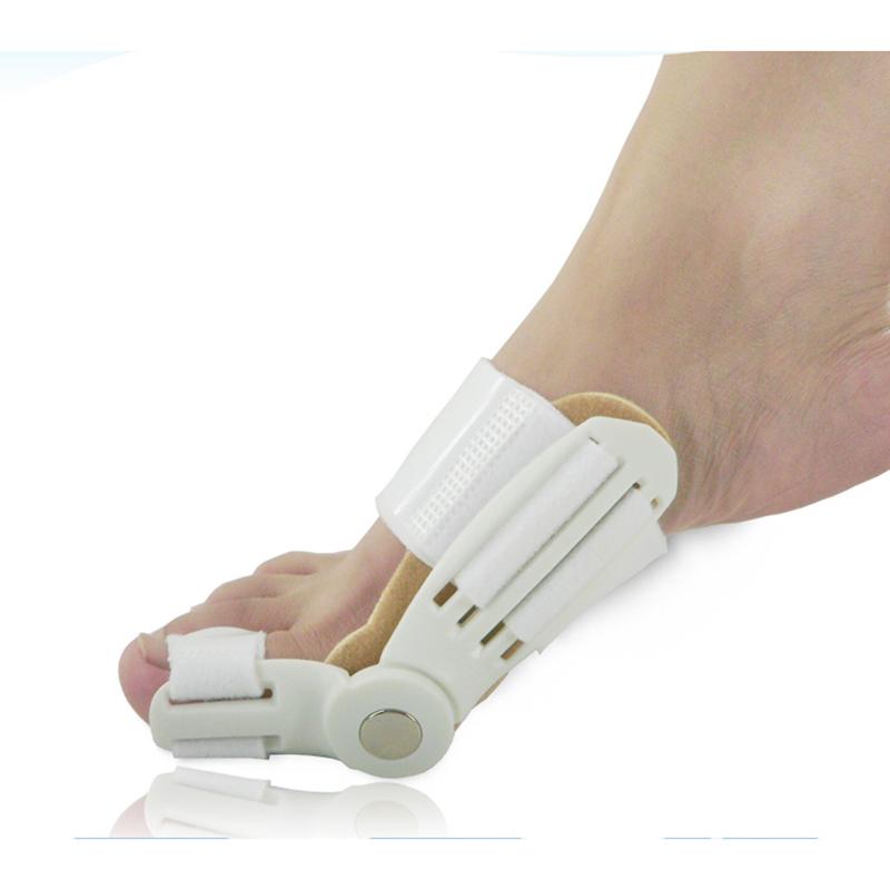 1 Pcs Hallux Valgus Footful Updated Toe Bunion Day Night Splint Straightener Corrector(China (Mainland))
