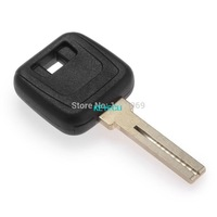 Replacement Transponder key Shell Case Fob For Volvo S80 2004 S60 2009 V70 2007 With Uncut Blade Without Logo