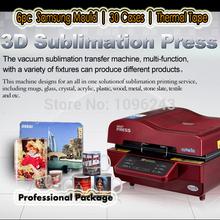6pcs Samsung Mould S3 S4 S5/Mini Note 2 /3  | 30pcs Case Printing and 3pcs Mug wraps 3d sublimation  machine