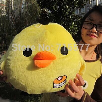 1 piece size 30 cm Real picture yellow chicken plush stuffed toys baby kid child girl Children birthday valentine day gift(China (Mainland))