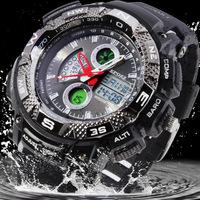 EPOZZ 2014 Original Men Military Watches Digital Watch Relogio Masculino Relojes de Marca Quartz Clock Frozen Dive Watch 5ATM