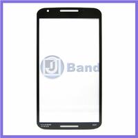 Black Repair Part Replacement Outer Front Screen Glass Lens Panel For Motorola Moto G2 XT1063 XT1068 XT1069