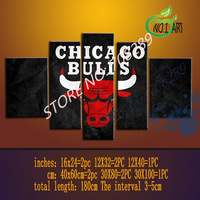 The Chicago bulls Large decorative oil painting Hand Painted abstract Wall Decor canvas picture sitting room of  painting