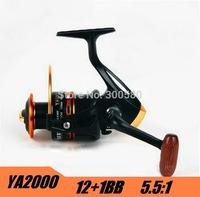 Carretilha Pesca YA2000 12+1BB  Spinning Fishing Reel Metal Spool For Shimano Feeder Fishing  Free Shipping