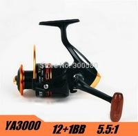 Hot  YA3000 12+1BB  Spinning Fishing Reel Metal Carretilha Pesca For Shimano Feeder Fishing  Free Shipping