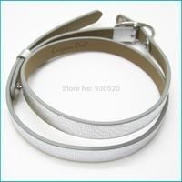 Free shipping  GENUINE LEATHER BRACELET FOR LOCKETS BRACELET AUTHENTIC ORIGAMI OWL