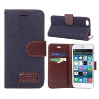 New Arrival Jean Fabric Cases for Apple iPhone 6 Case for iPhone6 Accessories Protective Phone Case  4.7inch Covers IP6-4711