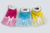 1 pc pet clothes winter dog clothing pet jumpsuits dog coats pet supply H060