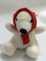 Polar Bear Mini Children's 4 inch Plush Stuffed Animal Toy Age 7 & Older Any