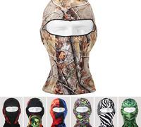 35pcs/lot 2015 Men Best Sport Facial Masks Women Camouflage Face Shield Summer Protection Bike Full Skull Cap Motorbike Headgear