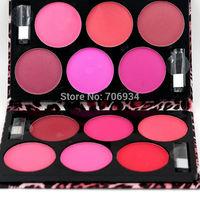 Blush Palette Pallete Contour Palette Makeup Blusher 1pcs 12 Colors Mineral Blusher Colored Pro Mineralize Blush Set D0012