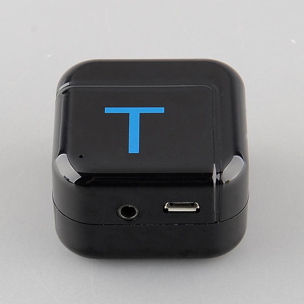 New H-266T 3.5mm A2DP Bluetooth 4.0 HiFi Dongle Adapter Transmitter Black / white Free shippingFree Shipping