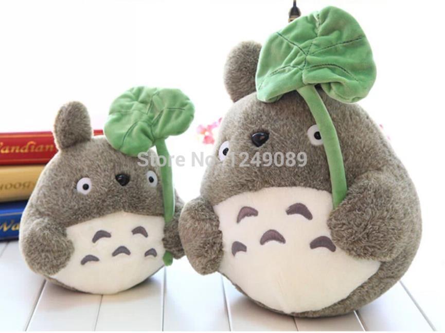 Free shipping 35 cm My Neighbor Totoro plush stuffed animal doll for new year gift(China (Mainland))