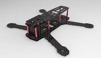 H250 ZMR250 250mm Carbon Fiber Mini Quadcopter Multicopter Frame Kit W/3mm Arm