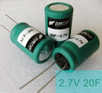 Wholesale 2.7V 20F FITN super capacitor Fala capacitance of double layer capacitance