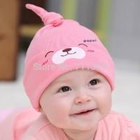 2015 Fashion New Cartoon Baby boys&girls Toddlers Cotton comfort Sleep Cap Headwear Cute Hat For Free Shipping