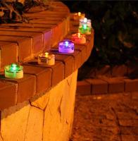 Free Shipping Solar Buried Lamp Yard Light LED Solar Garden Light  5 colors for choice