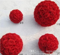 Wholesale - - Brand new 15cm Simulation of high-quality encryption rose flowers ball for the New Year festive wedding decoration
