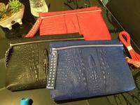 2015 New Fashion Cowhide Genuine Leather Alligator Women Handbags Famous Brand Designer Messenger Bags Free Shipping