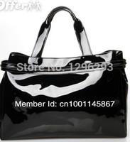 GZ 2014 Women's handbag aj bag shoulder bag patent leather oil skin PU jelly handbag brand bag 3036 bag isabel marant