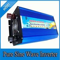 car inverter! 2500W Off  Pure Sine Wave Power Inverter 12V to 220V power inverter, Solar&Wind Inverter
