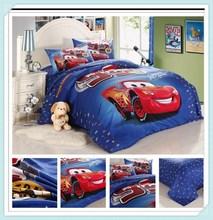 cars full  queen duvet cover  Bedding Duvet/Comforter Quilt Cover Sets for Kids/child cartoon bedding set GirlsBoys bedroom set(China (Mainland))