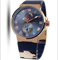 2014 Brand NEW Military Marine Automatic Mechanical Sport Watch Men Wristwatch Gift