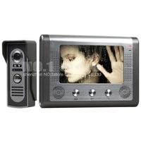 2015 7 inch Wired Video Door Phone Door Bell System Kit Home Security Entry 2 Way Intercom IR Camera