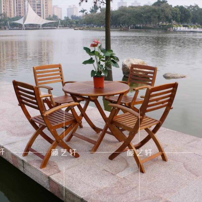 Online kopen wholesale houten inklapbare tuintafel uit china houten inklapbare tuintafel - Houten stoelen om te eten ...