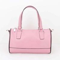 Fashion 2014 mango bucket plaid pillow one shoulder cross-body portable women's handbag small bag free shipping H013 pink