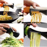 Garnish Veggie Twister Fruit Vegetable Cutter Spiral Slicer Kitchen Utensil New Free Shipping