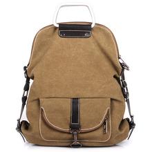 New Men Messenger Bags Casual Multifunction Men Travel Bags Backpack Man Outdoor Canvas Shoulder Handbags
