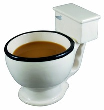 Free shipping Toilet Mug Coffee Tea Cup Cereal Sundae Bowl Candy Dish Unique Great Gifts