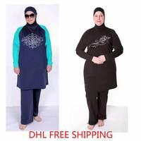 Muslim Swimsuit Women Muslim Swimwear Islamic Swimsuit  clothing Tankinis Set  Free Shipping by DHL