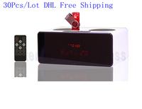 DHL Free shipping 30pcs/lot Mini Speaker touch screen Radio Music Player TF Card USB Portable Speaker KR7200