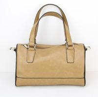 Fashion 2014 mango bucket plaid pillow one shoulder cross-body portable women's handbag small bag free shipping H013 khaki