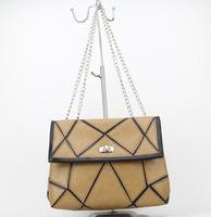 2015 New Fashion Spain brand Women's pu Handbag Shoulder messenger bags Bolsas Feminina H091 apricot