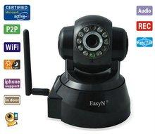 EasyN F-M136 Wireless IP Camera Pan Tilt Free DDNS Smartphone Audio Night Vision WiFi Free Shipping