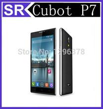 Original new Cubot P7 Mobile Phone MTK MT6582M, Cortex A7 Quad Core Android 5 Inch IPS 960x 540 pixels ROM 4G  5.0MP Dual Camera