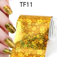 1Pcs New Useful Big size 130*4cm Fashion DIY Gold Nail Art Stickers Polish Foil gel Tips Gitters Decoration Hot Sale 06020402