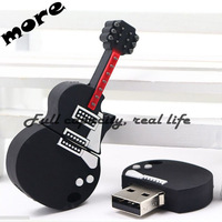 2015 New Pendrive guitar USB 3.0 Flash Drive16GB Pen drive Memory stick U Disk Freeshipping
