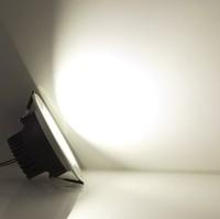 luz led 3W 5W 7W 9W 12W 15W lampada led silver / black / gold shell 110v120v220v230v240v luminaria teto warm / day / pure white