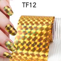 1Pcs New Useful Big size 130*4cm Fashion DIY Gold Nail Art Stickers Polish Foil gel Tips Gitters Decoration Hot Sale 06020403