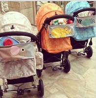 Fashion Versatile waterproof cart bag baby stroller storage bag troller Organizer and Baby Stroller Travel Carry Bag